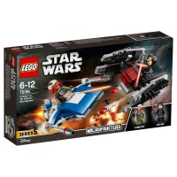 LEGO STAR WARS A-Wing vs. TIE Silencer