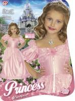 Kinderkostüm Prinzessin Pink Lady 3 bis 5 Jahre