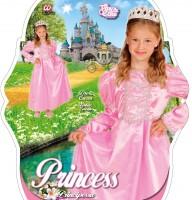Kinderkostüm Rosa Prinzessin 4 bis 5 Jahre