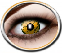 Kontaktlinsen oranges Monster, 3 Monate