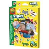 SES SES Fensteraufkleber Bauernhof