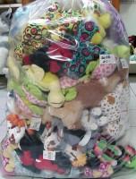 Plüsch Sack gemischt 100 Stück