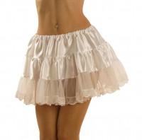 Petticoat weiss kurz