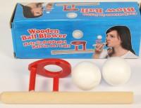 Blasrohrspiel mit 2 Bällen