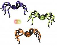 Dekorspinnen Neonfarben