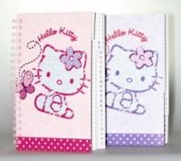Hello Kitty Adressbuch Schmetterling, assortiert