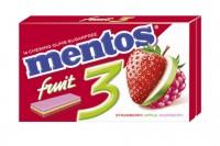 Mentos Gum Fruit 3 33g x 16