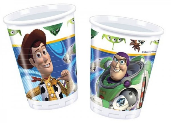Toy Story 10 Becher 200ml