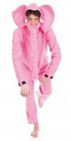 Kostüm rosaroter Elefant