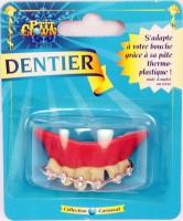 Nerd Gebiss mit Zahnspange