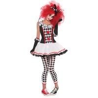 Fasnacht Harlekin Clown Gr. 36/38