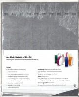 Kontrollbänder Tyvec silber