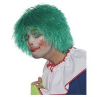 WILBERS Perücke Clown Fransen grün