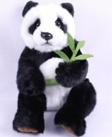 Plüsch Panda mit Bambus