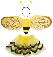 Kinderkostüm Bienen-Set