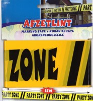 Absperrband Party Zone