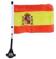 Fahne für Fahrrad Spanien