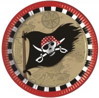 Partyteller Piraten-Schatzkarte