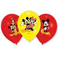 Amscan 6 Ballone Mickey Mouse farbig