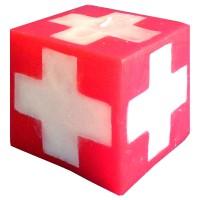 HAUSER Kerzenwürfel Schweizerkreuz