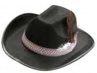 Cowboyhut mit Federband