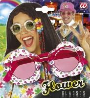 Brille Hippie Flower