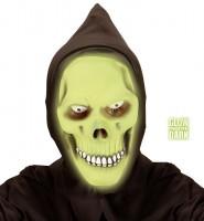 Grüne Grim Reaper Maske