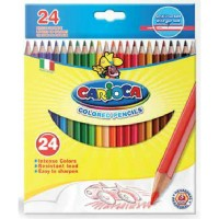 24 Farbstifte farbig Carioca