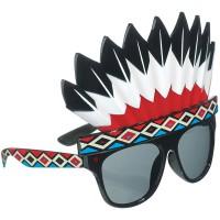 Fun-Shade Brille Indianer