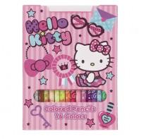 Hello Kitty 16 Farbstifte