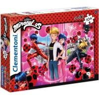 Clementoni Puzzle Maxi Disney Miraculous 104 tlg