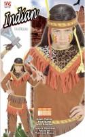 Kinderkostüm Indianer 128cm