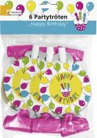Partytröte Happy Birthday