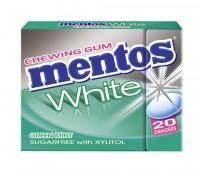 Mentos Gum White Greenmint 30g Fliptop x 12