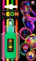 Neon Make-Up grün