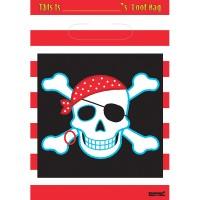 Amscan 8 Partybeutel Piraten