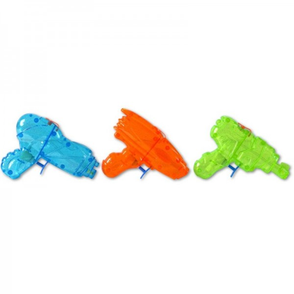 Glitter-Wasserpistole, 15cm, Farbe assortiert
