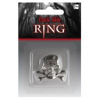 Fasnacht Totenkopf-Ring Gothic