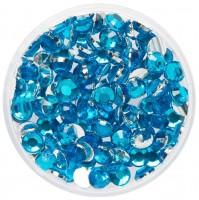 Blaue Glitzersteine