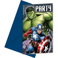 Procos Einladungssets Avengers Power