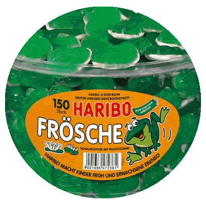 Haribo Riesen Frösche