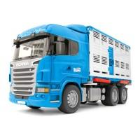 Bruder Scania R-Serie Tiertransport-LKW