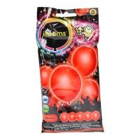 5 LED Ballone rot