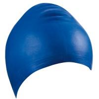 Latex-Schwimmhaube blau