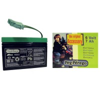 Batterie 6V (7Ah) Peg-Pérego