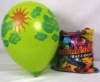 Ballone Sonne und Wolken