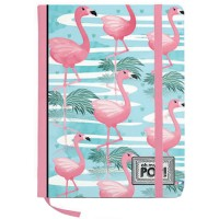 Flamingo Flamingo Notizbuch 13x21x1cm