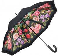 Regenschirm Rosengarten