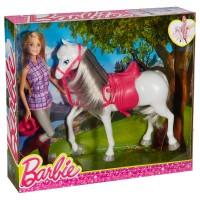 BARBIE Barbie mit Pferd