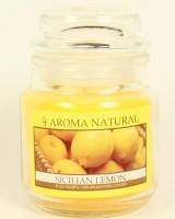 Duftkerze Zitrone